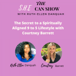 The Secret to a Spiritually Aligned 9 to 5 Lifestyle with Courtney Barrett